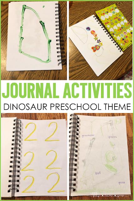 Preschool Journal Activities