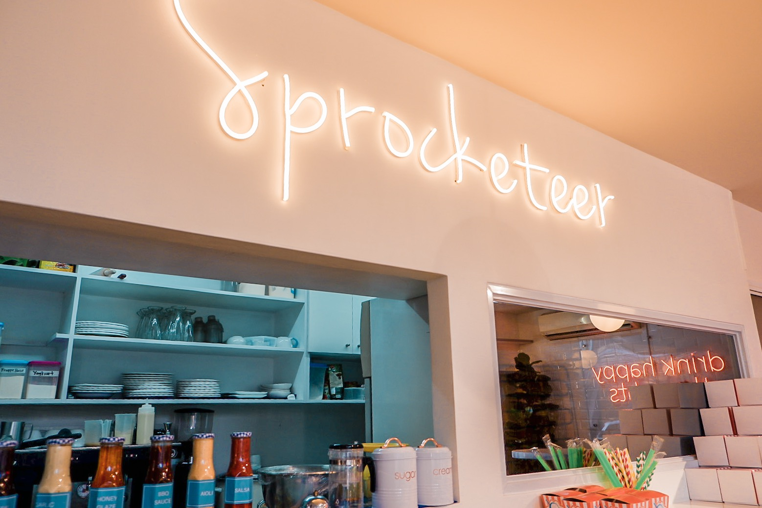 Sprocketeer Cafe: Modern Diner with Retro Vibes
