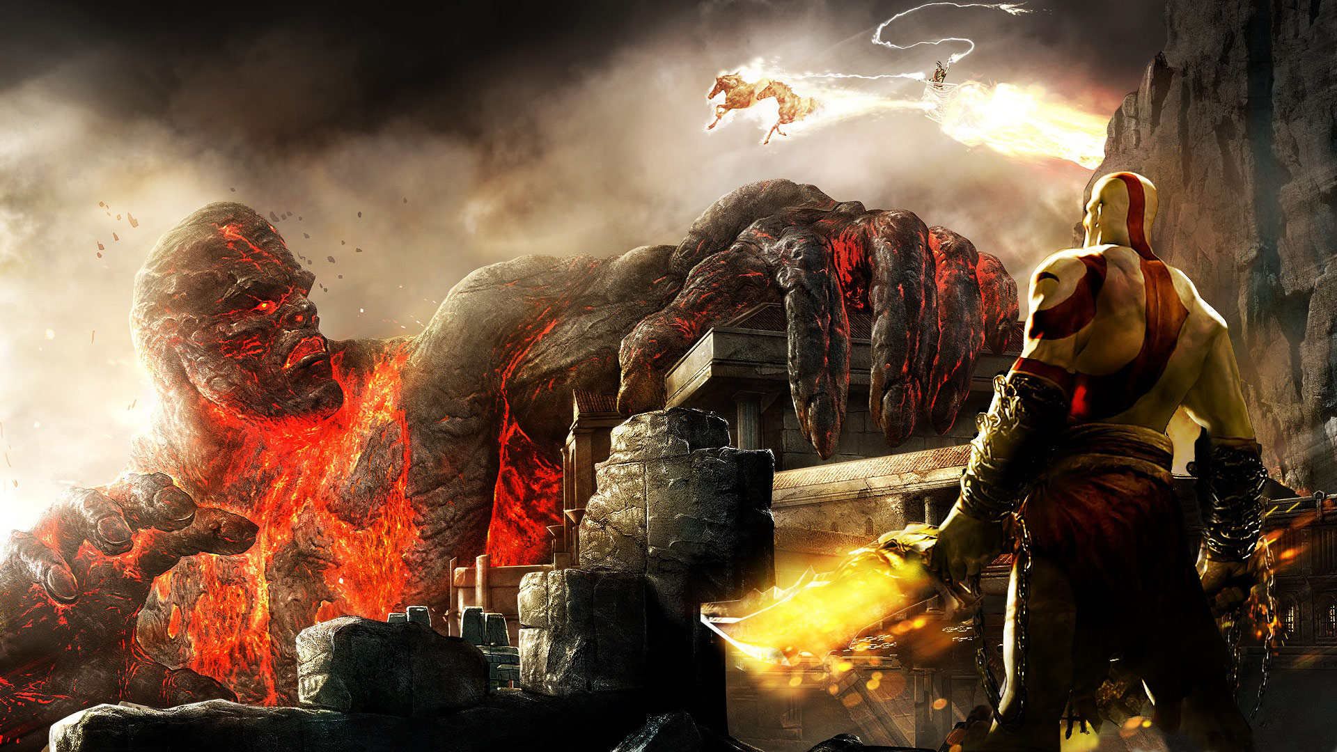 Natal Wallpaper 3d Papel De Parede Pc God Of War Hd Papel De Parede Gr 225 Tis