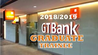 www.gtbank.com -Guaranty Trust Bank Recruitment Requirements/Application 2018/2019
