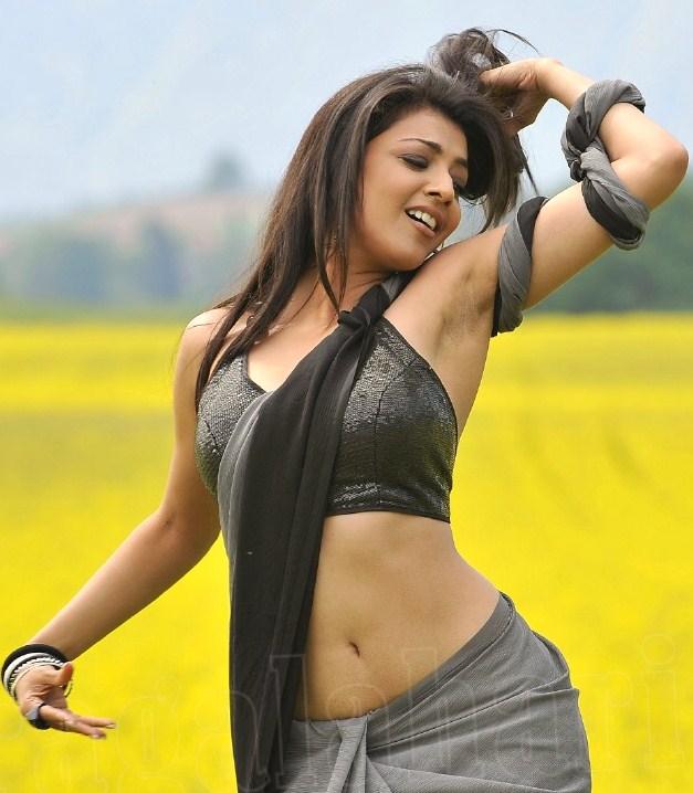 Kajal Agrawal Sexy Navel Show