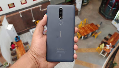 Nokia 3.1 plus build quality