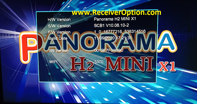 PANORAMA H2 MINI X1 1506TV NEW SOFTWARE WITH ALFA IPTV & DIRECT BISS KEY ADD OPTION