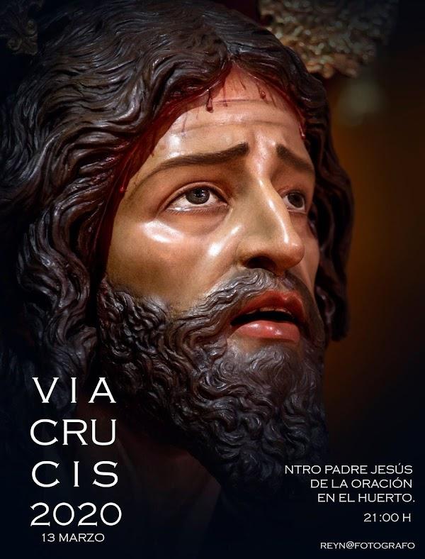 Horario e Itinerario del Vía Crucis con el Señor de la Oración de Cádiz