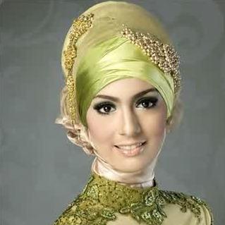 Contoh Model Hijab Modern Untuk Kebaya Anggun