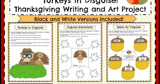 Incorporating Writing into Thanksgiving Activities