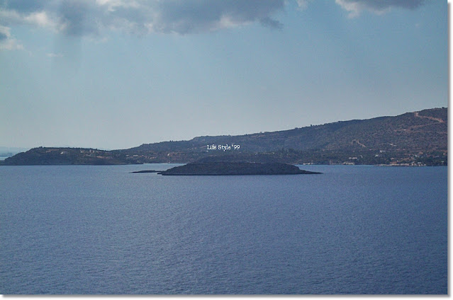 Chania vista dal mare