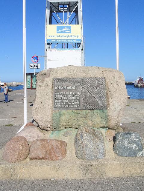 pomnik Władysławowo, port