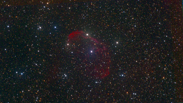 NGC 6888 Red Green Blue filters