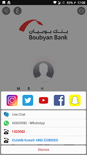 BB contacts and social media accounts