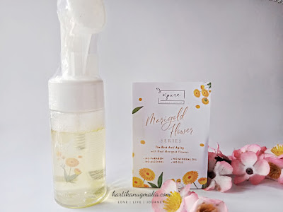 N'PURE Marigold Deep Cleansing Foaming Face Wash