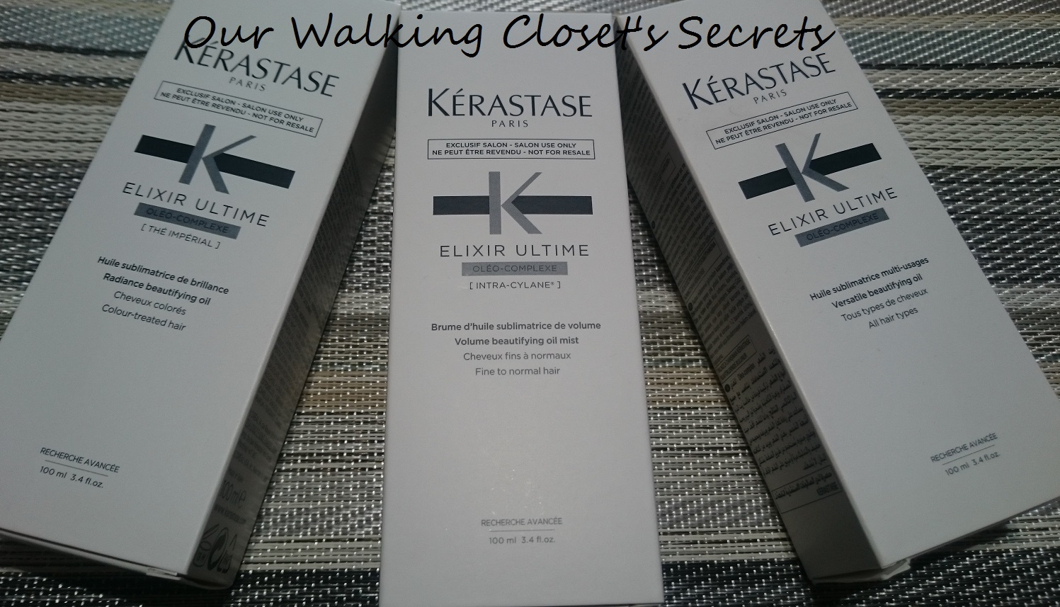 kérastase elixir ultime fine hair oil (100ml)
