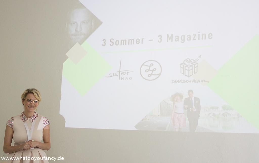 Einblick in das sisterMAG beim Bloggerevent sommergesund