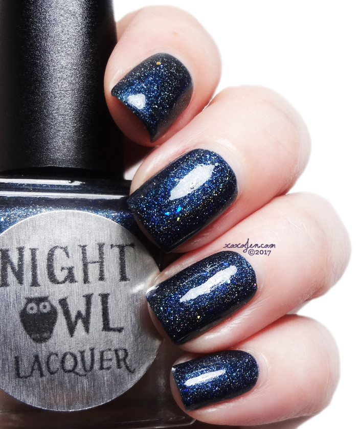xoxoJen's swatch of Night Owl Shooting Stars
