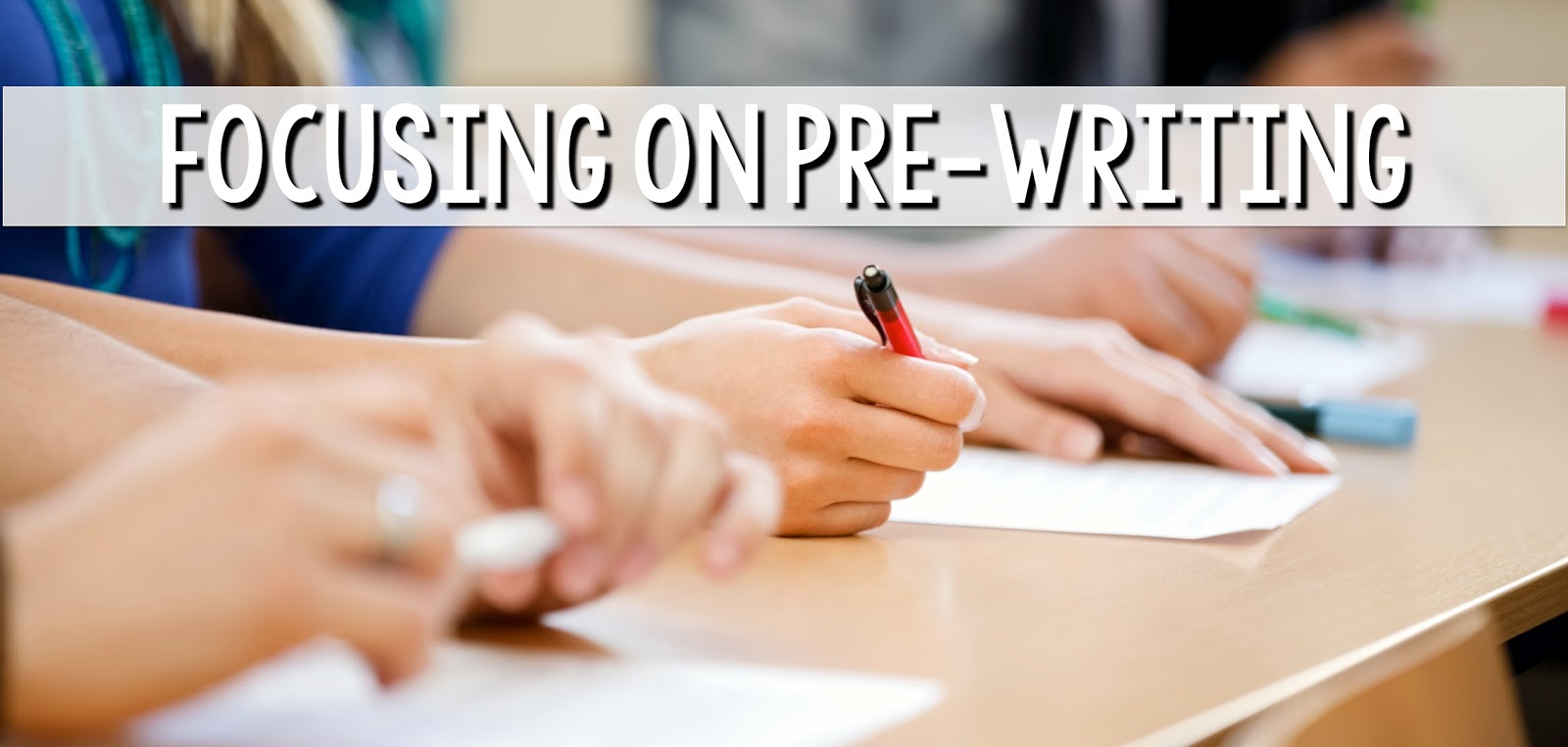 how to focus on writing an essay The first week would be solely dedicated to brainstorming and planning out your  essay the following week, you would focus on writing the.