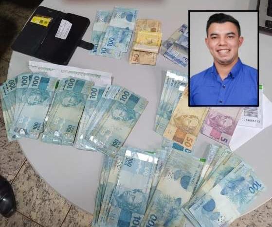 Candidato a vereador de Nortelândia é preso com quase R$ 7 mil no carro fazendo boca de urna