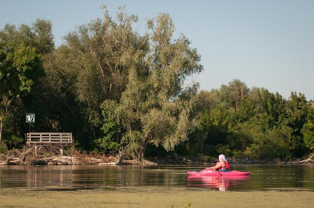 Dunarea, km 1075