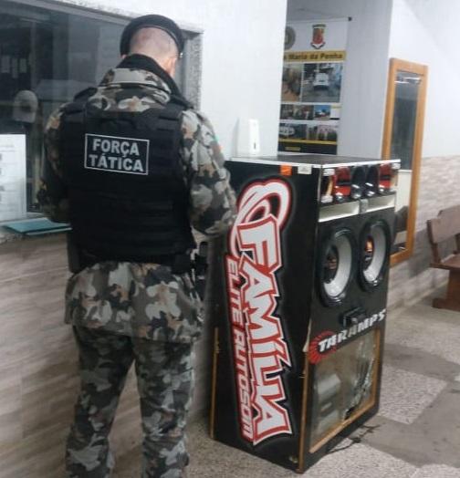 Operação contra a perturbação do sossego acaba com festa em Cachoeirinha