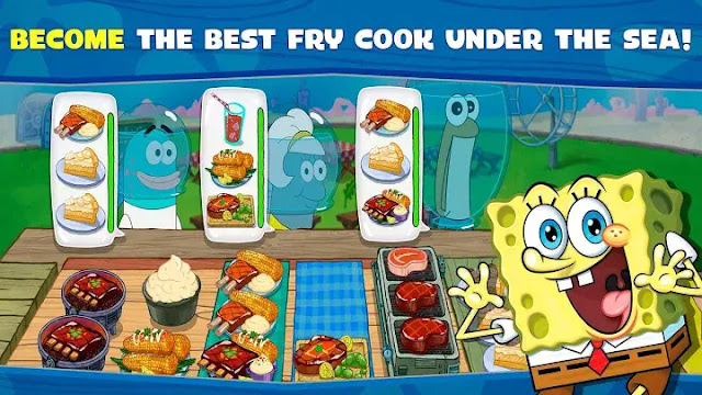 SpongeBob Krusty Cook-Off Hack APK