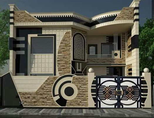 Modern House Front Designs 50 Exterior Wall Decoration Ideas 2020