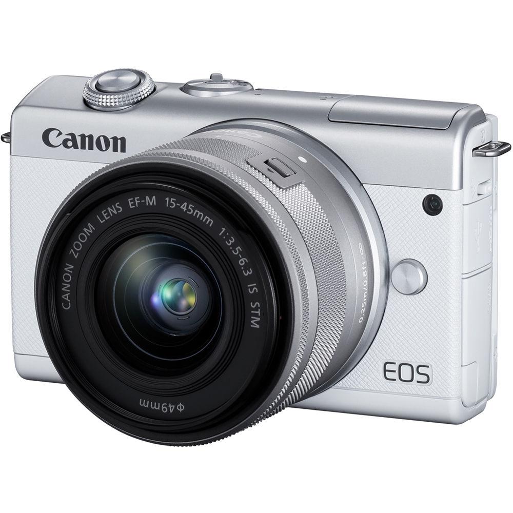 Canon EOS M200, вид спереди