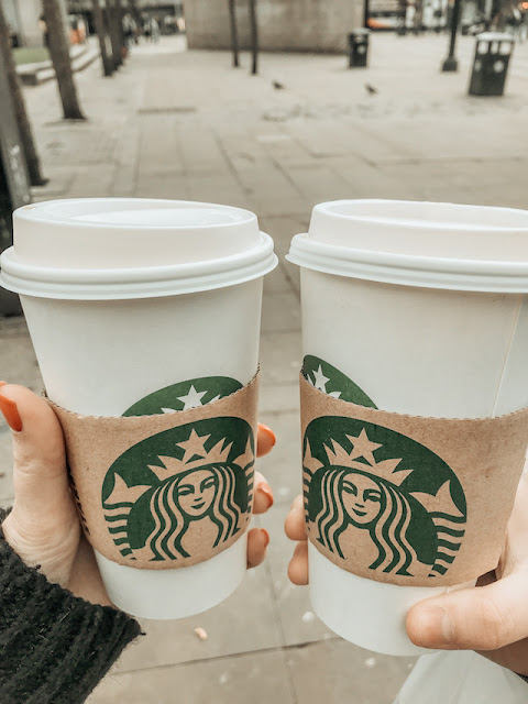 Exploring Manchester - Starbucks coffee