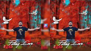 Valentine Day Photo Editing tutorial