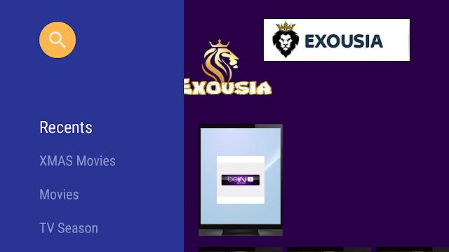 تحميل تطبيق ExousiaAF2.5.apk التحديث الاخير لمشاهدة القنوات و الافلام والمسلسلات