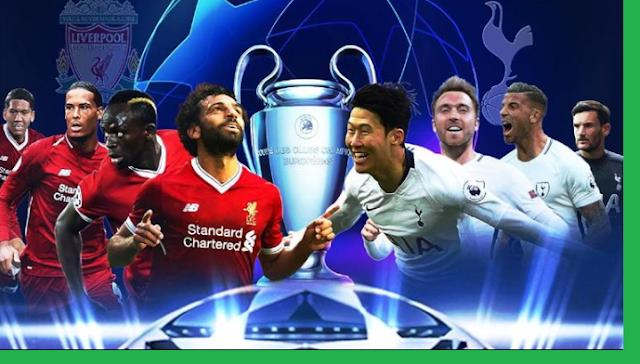 موعد مباراة نهائي دوري أبطال أوروبا 2019 بين ليفربول وتوتنهام