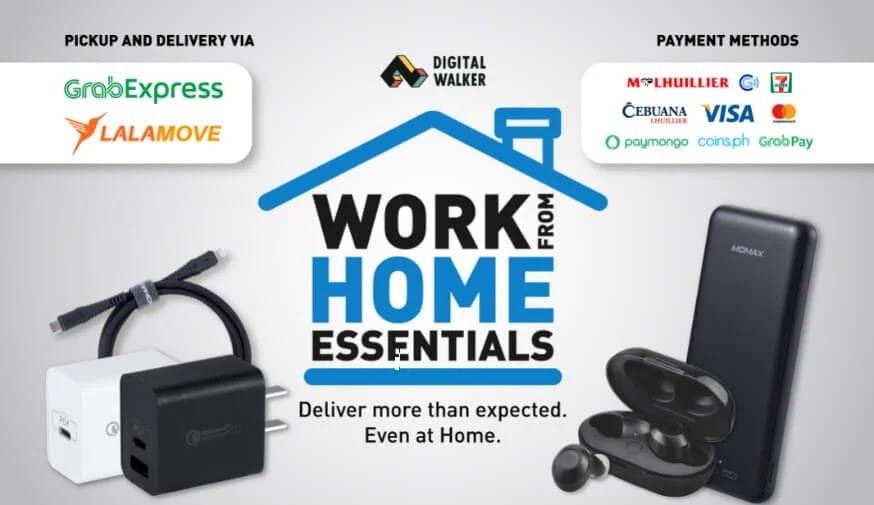 Your Work From Home Essentials Delivered Right At Your Doorstep