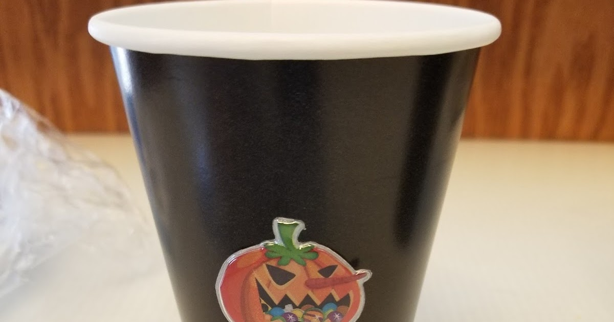 Fast And Easy Dollar Store Halloween Party Cups Decorating