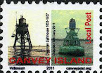 Canvey Local Post Lighthouse and Buoy Stamp