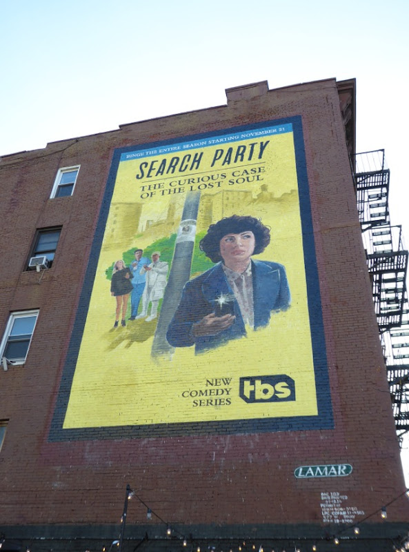Search Party series premiere billboard