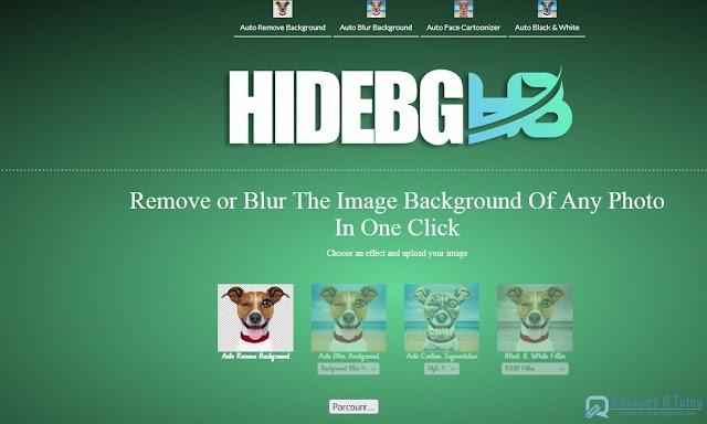 HIDEBG :  un outil en ligne 4 en 1 d'édition d'images gratuit et simple d'emploi