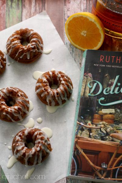 Gingerbread with Orange and Bourbon inspired by Ruth Reichl's Delicious
