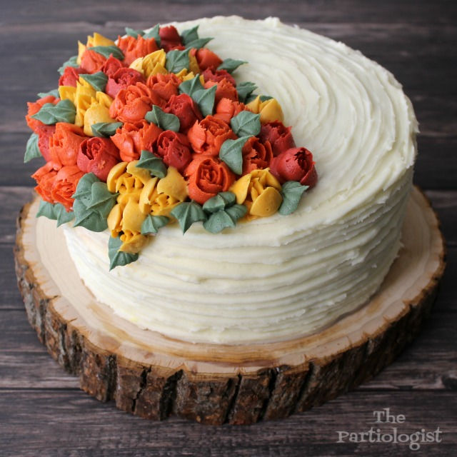 The Partiologist Carrot Cake