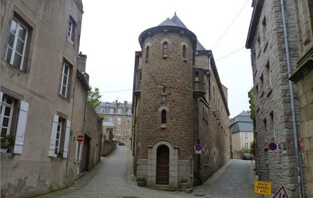 Saint Malo, edificios de intramuros.
