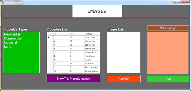 manage property images