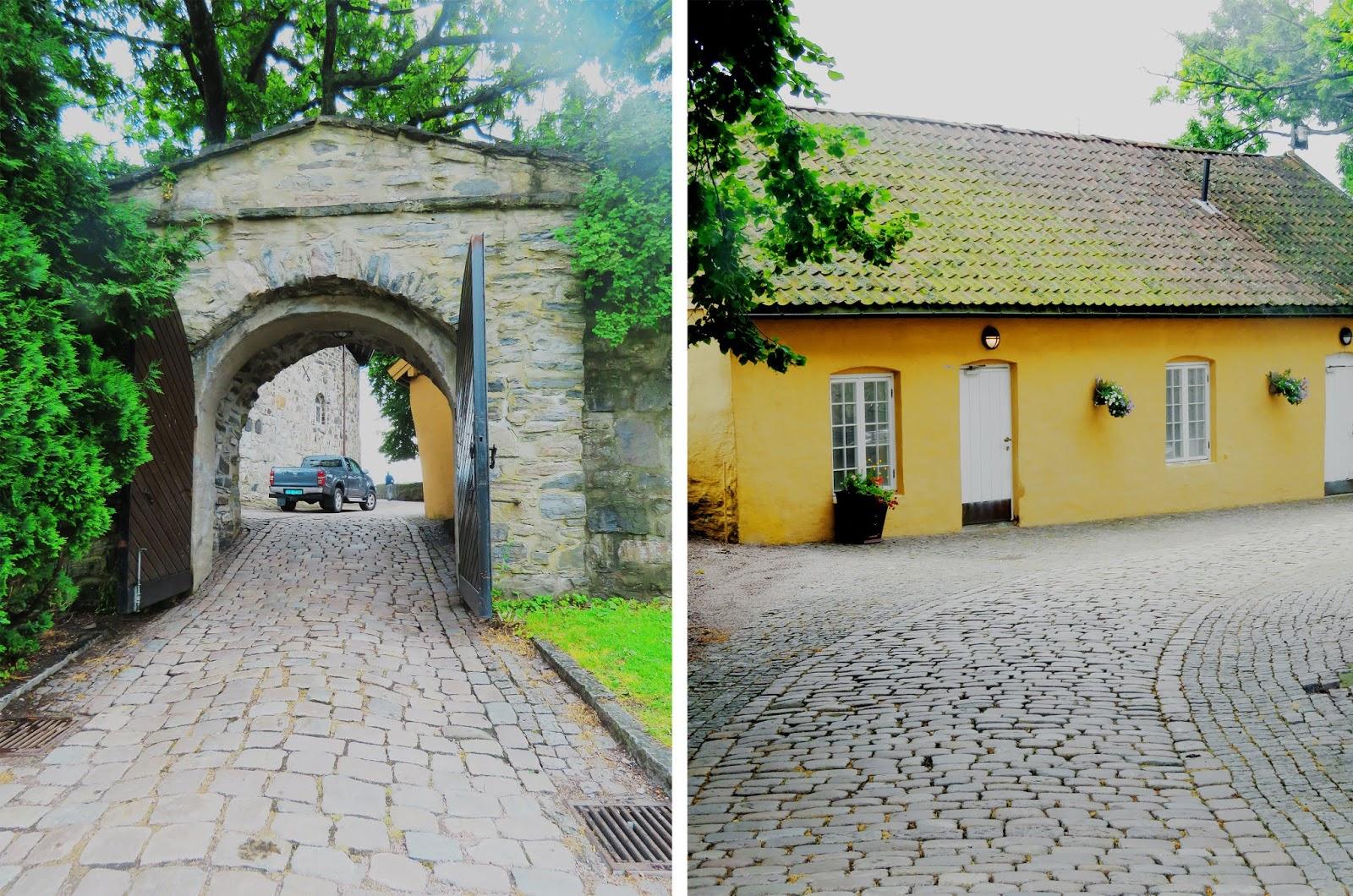 Wejście do Christiansholm, Kristiansand