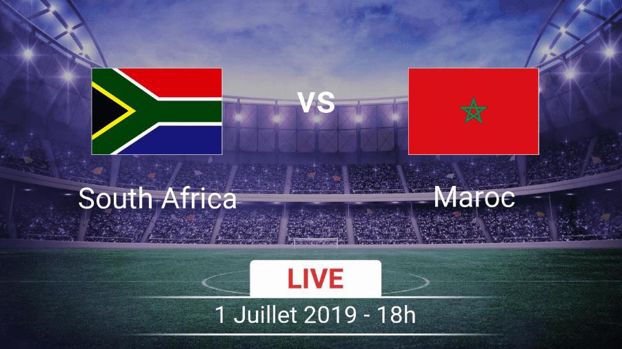 مشاهدة مباراة جنوب إفريقيا و المغرب 01-07-2019 كأس أمم إفريقيا