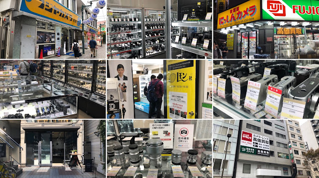 [相機] [心得] 東京中古相機店走訪攻略(2019版):Map Camera / Lemonsha / Fujiya Camera /カメラのキタムラ / Filmcamera Tokyo