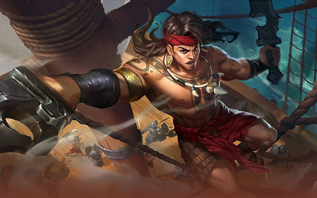 Lapu Lapu Great Chief Heroes Fighter Assassin of Skins Mobile Legends Wallpaper HD for PC
