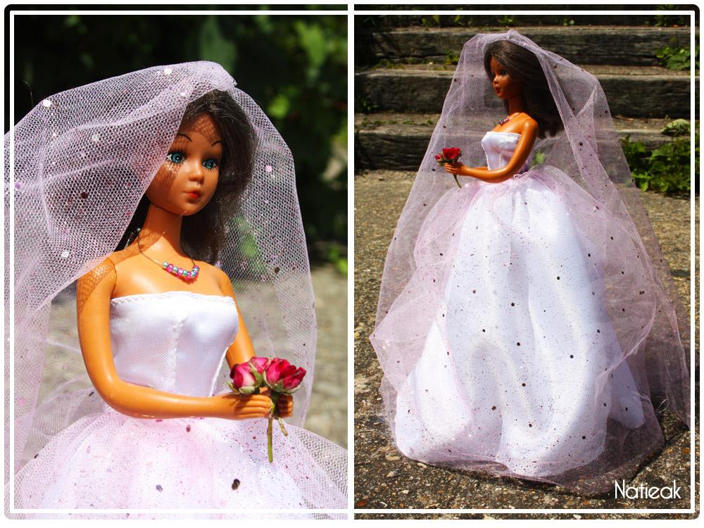 Patron robe de mariee pour barbie