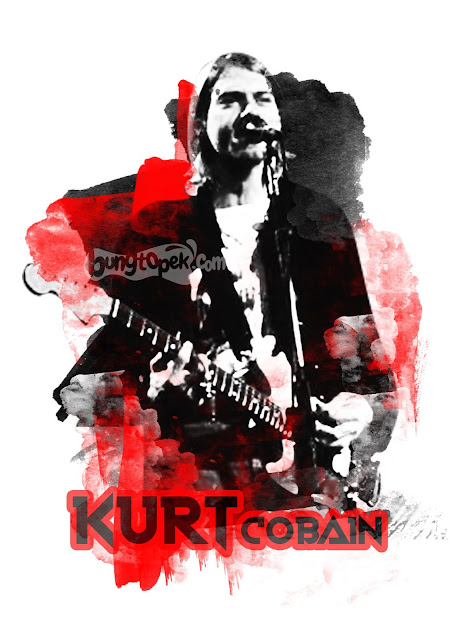 Painting Art of Kurt Cobain