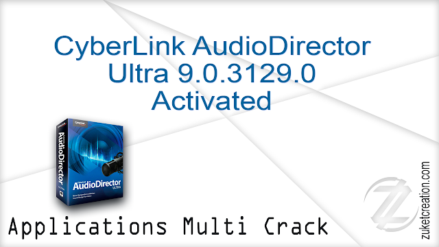 CyberLink AudioDirector Ultra 9.0.3129.0 Activated