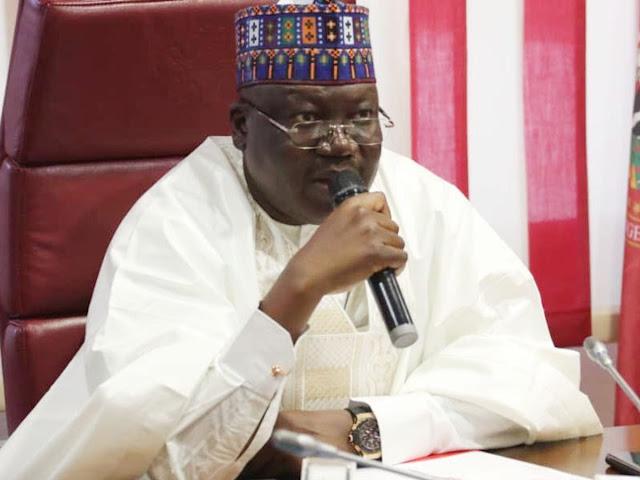 Senate President, Lawan sends message to Nigerians from Saudi Arabia