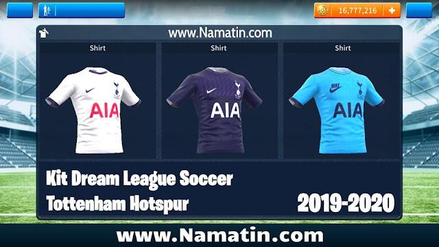 Kit Dream League Soccer Tottenham Hotspur