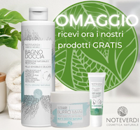 Vinci gratis pack con 3 prodotti Noteverdi Cosmetica Naturale o buono sconto del 50% su tutti i prodotti