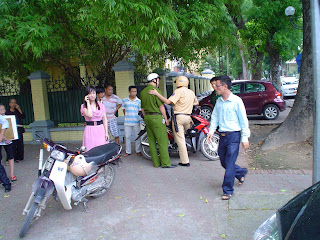 Vietnamese Police - Security in Vietnam
