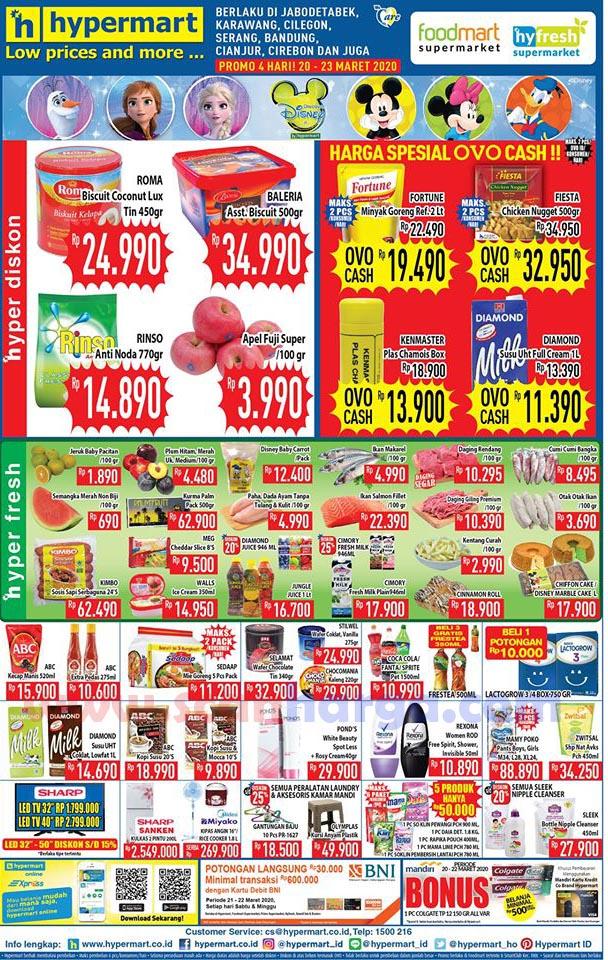 Katalog Promo Hypermart Weekend 20 - 23 Maret 2020